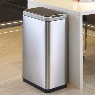 40L Tall Narrow Kitchen Bin