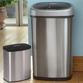 50 + 8 Litre Kitchen Sins Sale stainless steel sanitary bins